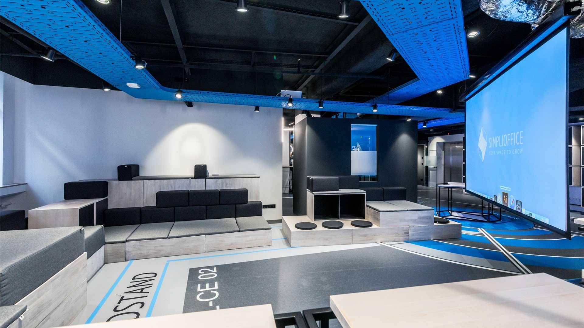 Veranstaltungsraum für Präsentationen in Leipzig